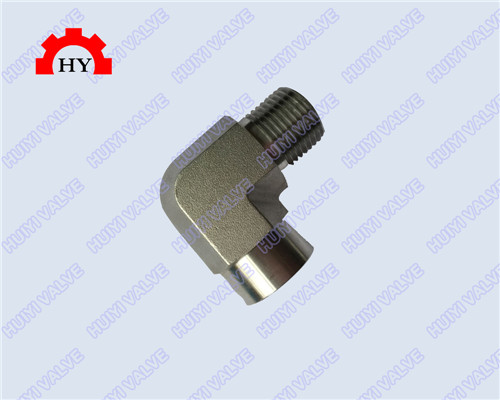 90 degree male-female thread elbow,moulding body