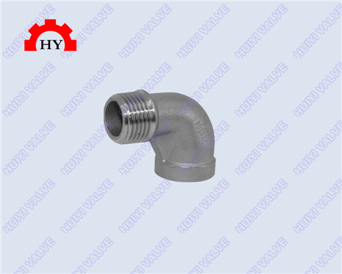 90 degree male-female thread elbow
