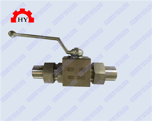 weld type high pressure ball valve