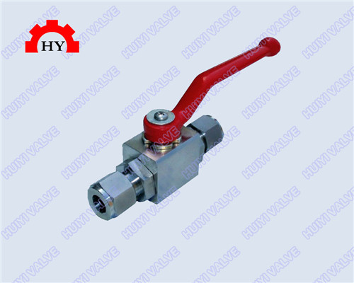 ferrule type high pressure ball valve